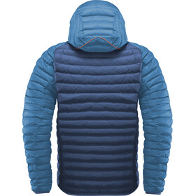 Haglöfs Essens Mimic Hooded Jacket Men Tarn Blue/Blue Ink